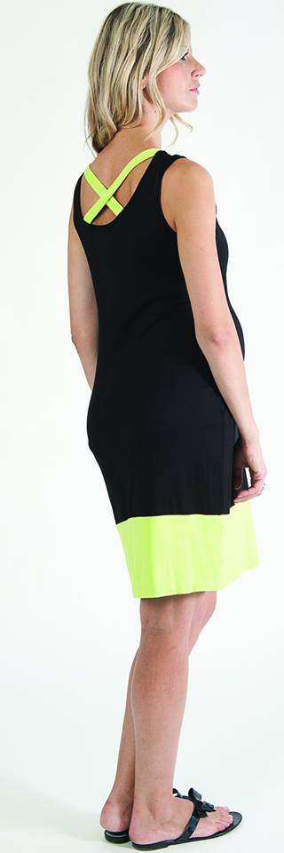 Bellyssima Black & Neon Dress
