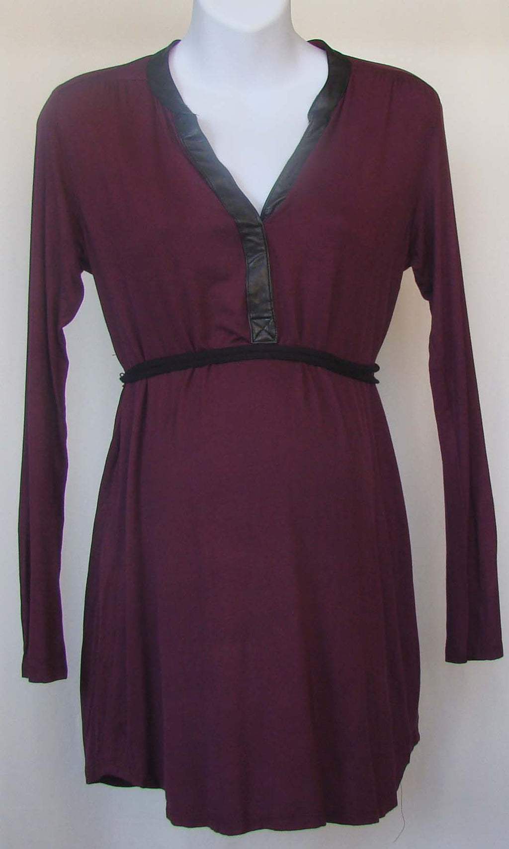 Bellyssima Wine Tunic with Belt