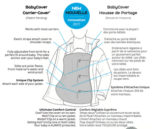 BellyFit Jacket Baby Cover
