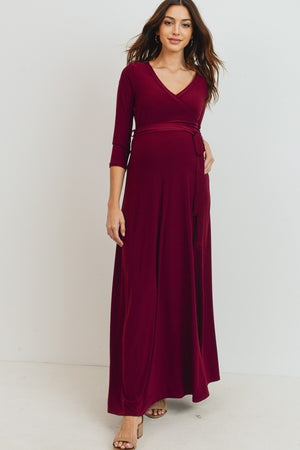 The Love Bird Gown - Available in Burgundy and Deep Green