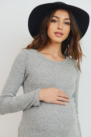 The Gray Owl Sweater Dress