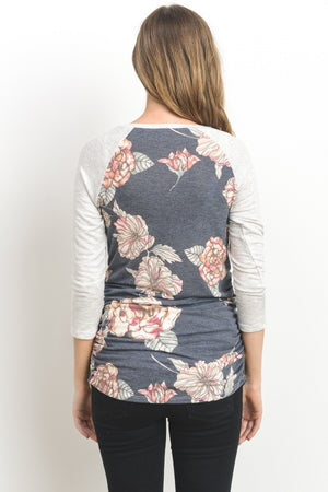 The Classic Conifer - Grey Floral
