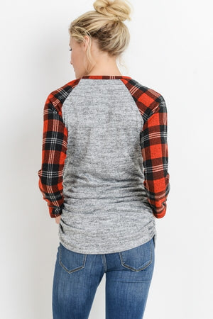 The Classic Conifer - Plaid Tee