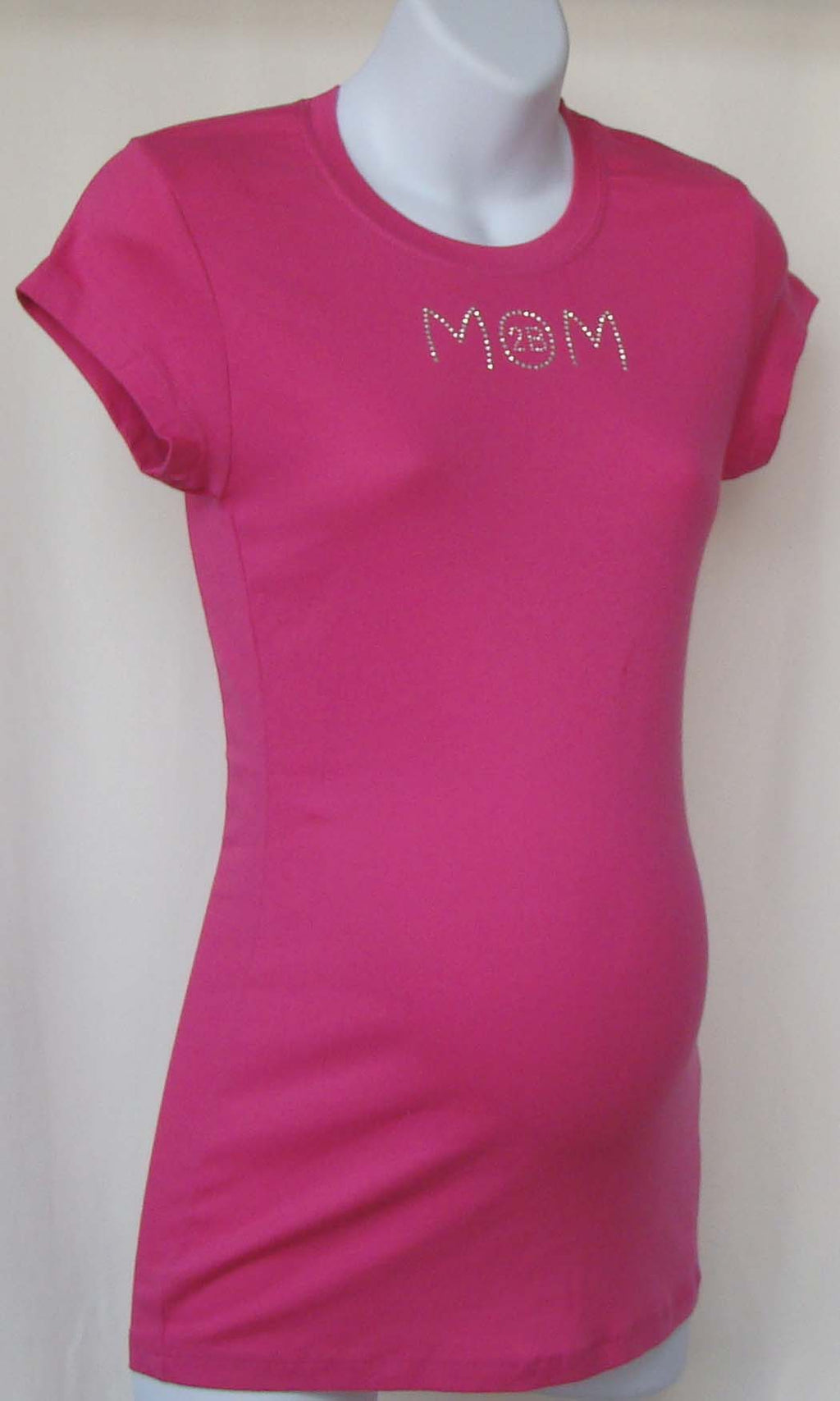 Beyond Maternity 'Mom 2B'  Fuschia T-Shirt