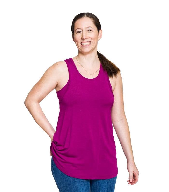 Nursing Top Tina in Orchid