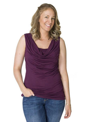 'Amanda' Nursing & Maternity Tank (One Left in Grey XL )