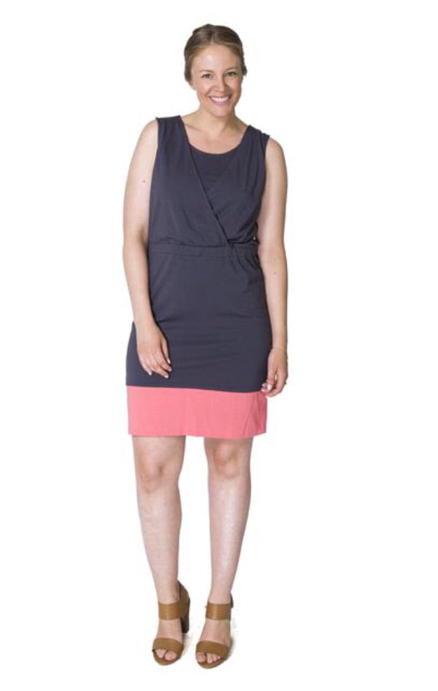 Momzelle 'Monica' Nursing Dress (2 Colours Available)