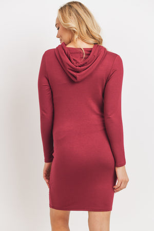 The Bergamot Sweater Dress w/ Hoodie