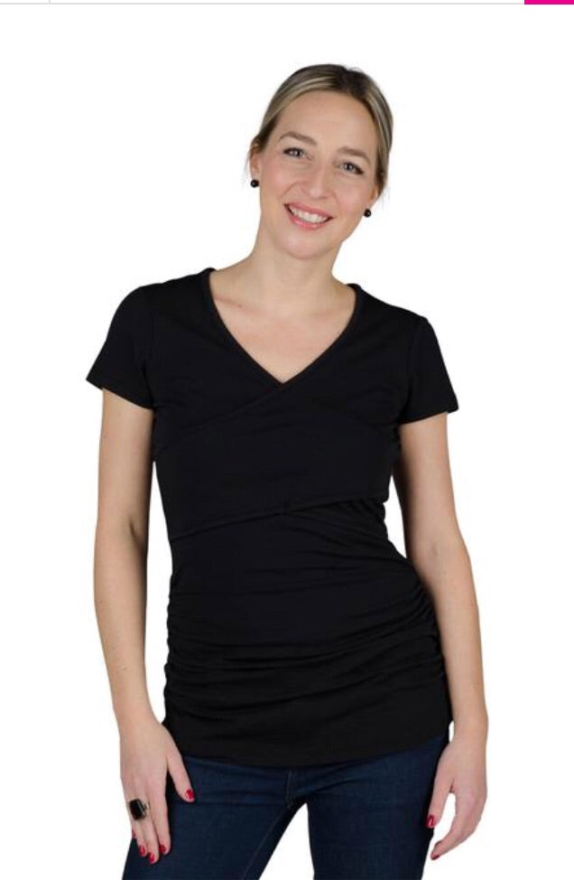 10312a47d7 Momzelle  Vanessa  Nursing   Maternity T-Shirt – Nest and Sprout ...