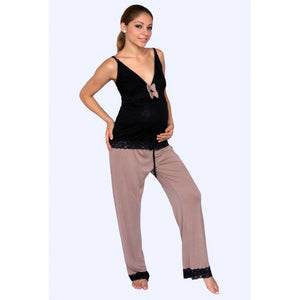 Luxury Nursing & Maternity 2-Piece Pyjama Set