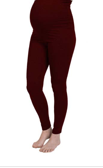 Classic Leggings - Burgundy