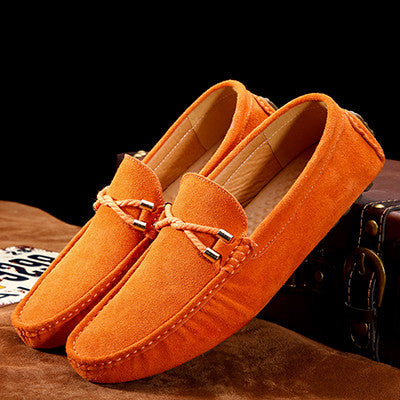 Comfortable soft Men loafers brand casual shoes driving men flats handmade  men shoes genuine leather brand 9c49d46076d