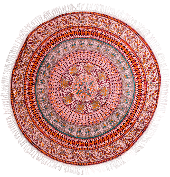 ELECTRA, mandala blanket, Gypsy Dream Weaver