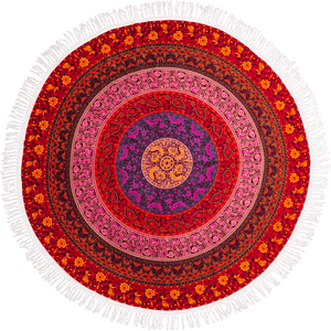 FESTIVAL, mandala blanket, Gypsy Dream Weaver