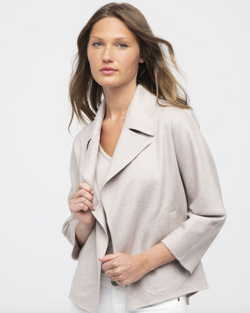 Light Weight Notch Collar Jacket