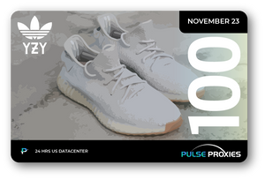 "Adidas x Yeezy 350 V2 ""Sesame"" Pack of U.S. Proxies"