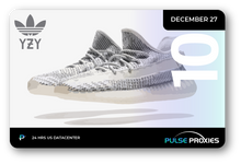 "Adidas x Yeezy 350 V2 Static ""3M Non-Reflective"" Pack of U.S. Proxies"