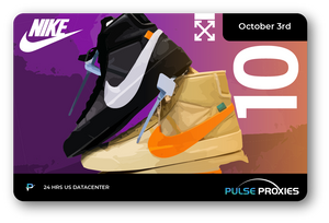 "Off-White Blazer Mid ""Spooky Pack"" Free Pack of 10 U.S. Proxies"