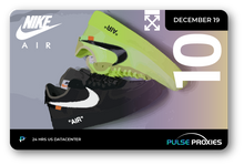 Nike x Off-White Air Force 1 Volt/Black Pack of U.S. Proxies