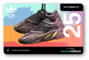 "Adidas x Yeezy 700 ""Mauve"" Pack of 25 U.S. Proxies"