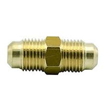 "PROPANE UNION COUPLING 3/8""BRASS"