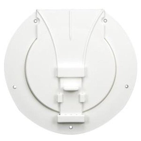 WHITE UTILITY STORAGE ACCESS HATCH