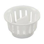 THREADED BASKET WHITE