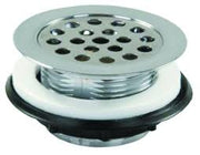 PLASTIC SHOWER STRAINER
