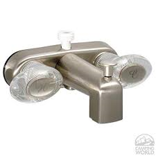 "BRUSHED NICKEL 4"" TUB AND SHOWER DIVERTER"