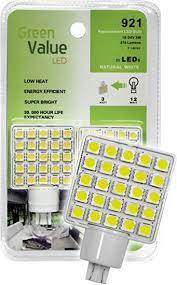GREEN VALUE 921 WEDGE LED BULB
