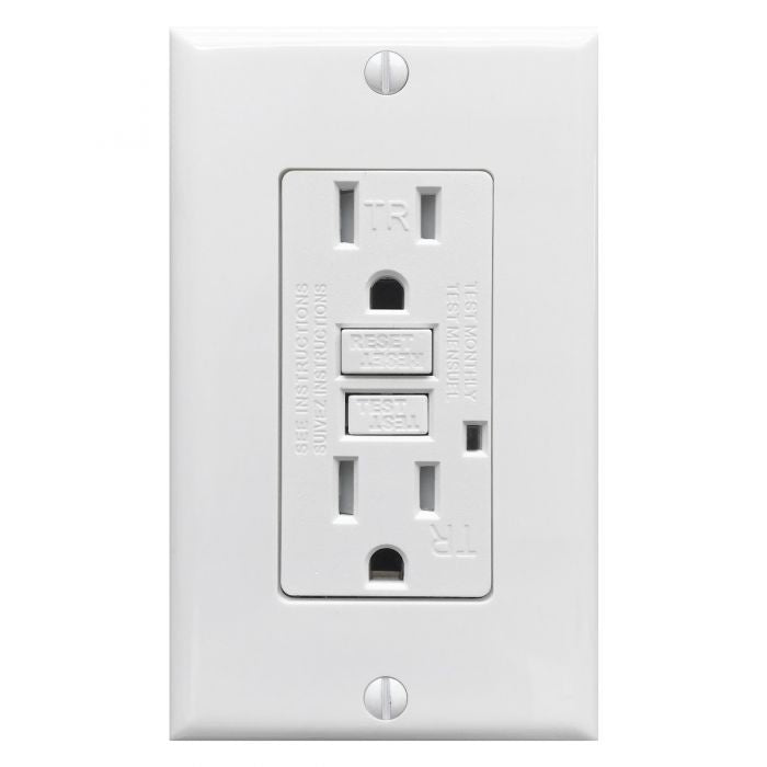 FAULT WHITE GFI OUTLET