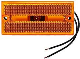 CLEARANCE MARKER LIGHT AMBER V132A