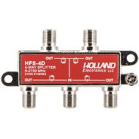 4-WAY 2.4 GHZ HD/SATELLITE LINE SPLITTER