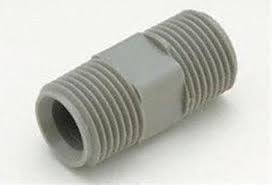 PLASTIC MALE COUPLER 1/2 X 1/2