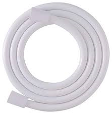 "72"" WHITE NYLON SHOWER HOSE"
