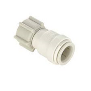 FEMALE CONNECTOR 3/8 CTS X 1/2 NPS 013510-0808