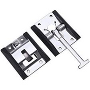 "STAINLESS STEEL 4"" T-STYLE DOOR HOLDER"