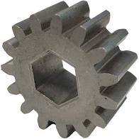 GEAR SPUR 15-TEETH .6250 HEX