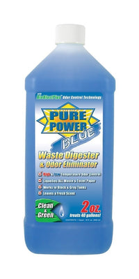 PURE POWER BLUE WASTE DIGESTOR & ODOR ELIMINATOR V23002