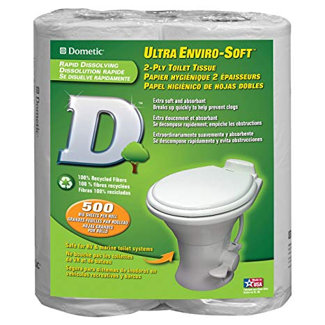 DOMETIC ULTRA ENVIRO-SOFT 2PLY TOILET PAPER 4PK