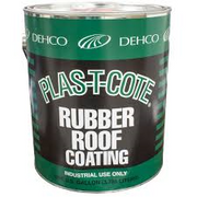 PLAS-T-COTE RUBBER  ROOF COATING 16-46128-4