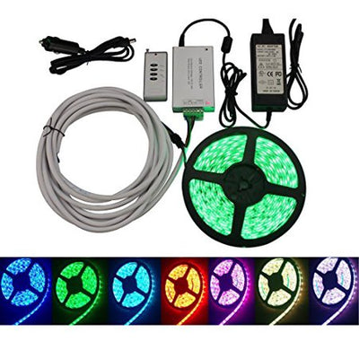 PROGRAMMABLE MULTICOLOR LED LIGHT STRIP KIT