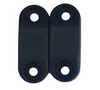 BLACK MAGNETIC BAGGAGE DOOR LATCH 2PK