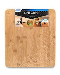 SINK COVER BAMBOO FINISH