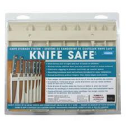 WHITE KNIFE SAFE
