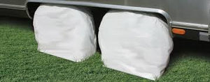 "2 PK RV WHEEL COVERS 27"" - 29"" WHITE"