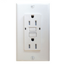 WHITE GFI OUTLET