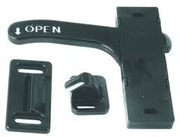 BI-DIRECTIONAL SCREEN DOOR LATCH