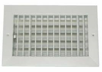 WHITE 4X8 RECTANGLE VENT