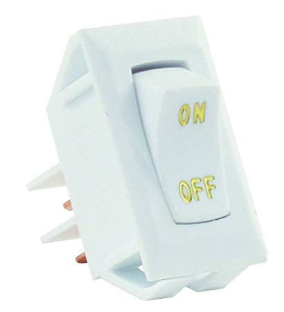 12V WHITE ON/OFF SWITCH